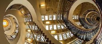 Duncan Hamburg Staircase Canvas
