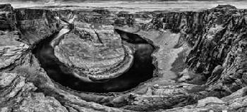 Duncan Horshoe Bend Black & White