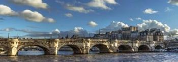 Duncan Pont Neuf Paris Canvas