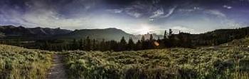 Duncan Yellowstone Landscape Canvas