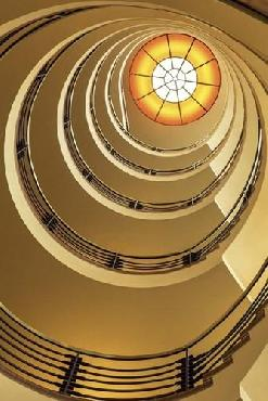 Duncan Yellow Staircase 2 Canvas