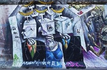 Duncan Berlin Wall 8 Canvas