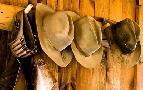 Tom Brossart Old Hats Gun On The Wall Payson Arizona