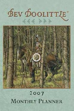 Bev Doolittle 2007 Monthly Planner