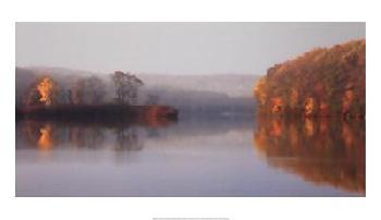 Michael Cahill Early Fall Morning At The Lake