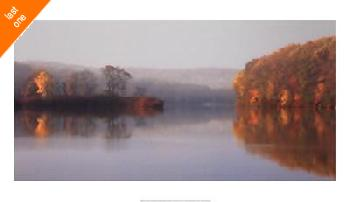 Michael Cahill Early Fall Morning At The Lake   LAST ONES IN INVENTORY!!