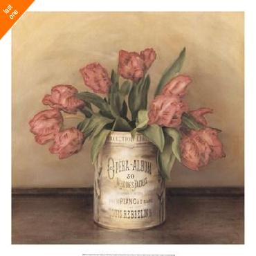 Cristin Atria Royal Tulips Canvas LAST ONES IN INVENTORY!!
