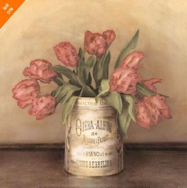 Cristin Atria Royal Tulips Canvas LAST ONES IN INVENTORY!!