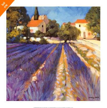 Philip Craig Lavender Fields Canvas LAST ONES IN INVENTORY!!