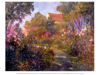 Philip Craig Annapolis Garden Canvas