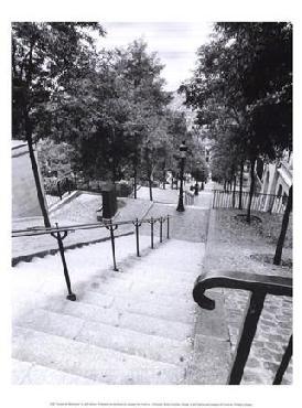 Jeff Cathrow Escalier de Montmarte
