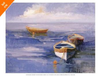 Vicki McMurry Resting Boats   LAST ONES IN INVENTORY!!
