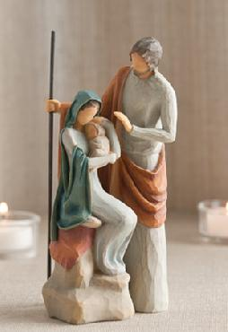 Willow Tree Holy Family Figurine