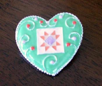 Dept 56 Inspirational Heart Pin - Happiness Fashion Pin