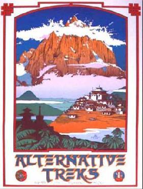 Monte Dolack Alternative Treks Signed Open Edition