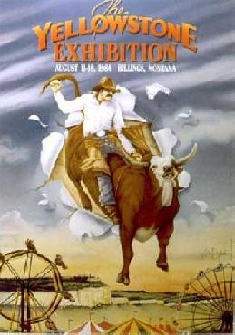 Monte Dolack Yellowstone Exhibition