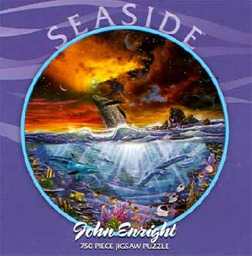 John Enright New Beginnings - Seaside 750 Piece Round Puzzle