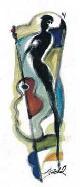 Alfred Gockel Guitar Signed by Alfred Gockel