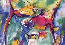 Alfred Gockel Colorful Fish