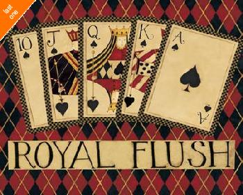 Dan Dipaolo Royal Flush   LAST ONES IN INVENTORY!!