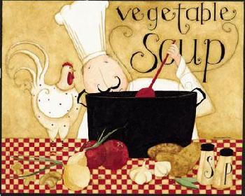 Dan Dipaolo Vegetable Soup