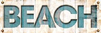 Jace Grey Beach Sign