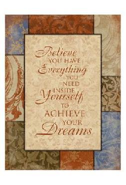 Jace Grey Achieve Your Dreams Canvas