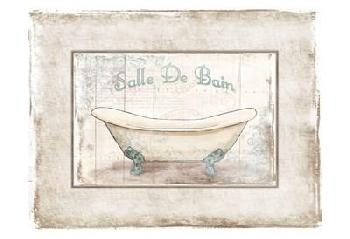 Jace Grey Salle De Bain 2 Canvas