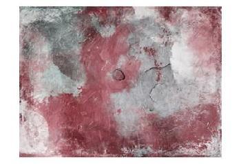 Jace Grey Abstract Marsala Grey Canvas