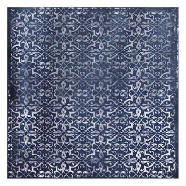 Jace Grey Blue Pattern