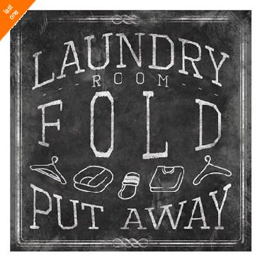 Jace Grey Chalkboard Laundry Mate   LAST ONES IN INVENTORY!!