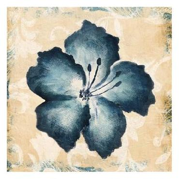 Jace Grey Blue Flower Mate