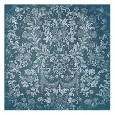 Jace Grey Blue Floral Chaos