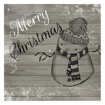 Orane Fraser Christmas Black And White
