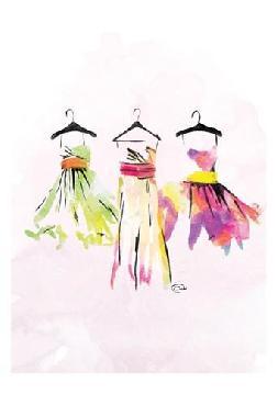 Onrei Dresses Watercolor