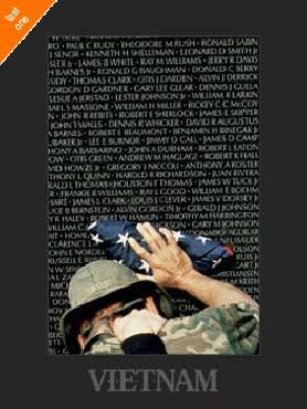 Peter Marlow Vietnam Memory Wall   LAST ONES IN INVENTORY!!