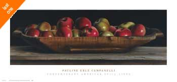 Pauline Eble Campanelli Apple Trencher   LAST ONES IN INVENTORY!!
