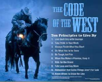 David Stoecklein The Code of the West