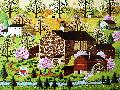 Charles Wysocki Four Seasons - Spring