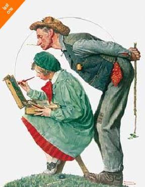 Norman Rockwell Art Critic NO LONGER IN PRINT - LAST ONES!!