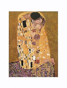 Gustav Klimt Kiss Canvas