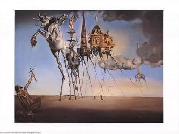 Salvador Dali Temptation Of St. Anthony, C.1946