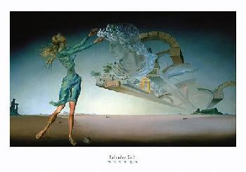 Salvador Dali Mirage Canvas