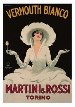 Marcello Dudovich Martini & Rossi - Vermouth Bianco