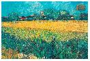 Vincent Van Gogh View Of Arles With Irises