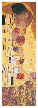 Gustav Klimt Kiss (detail)