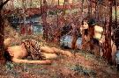 John William Waterhouse Naiad (hylas With A Nymph)