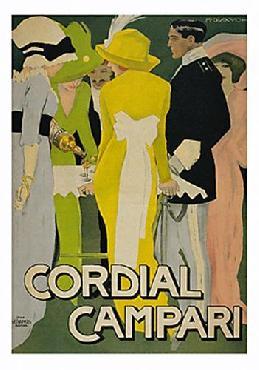 Marcello Dudovich Cordial Campari Canvas