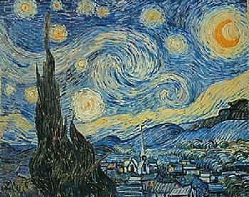 Vincent Van Gogh Starry Night Canvas