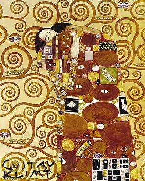 Gustav Klimt Embrace Canvas